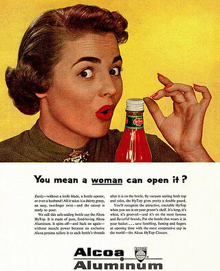 50s-ad-woman-bottle-top-sexist