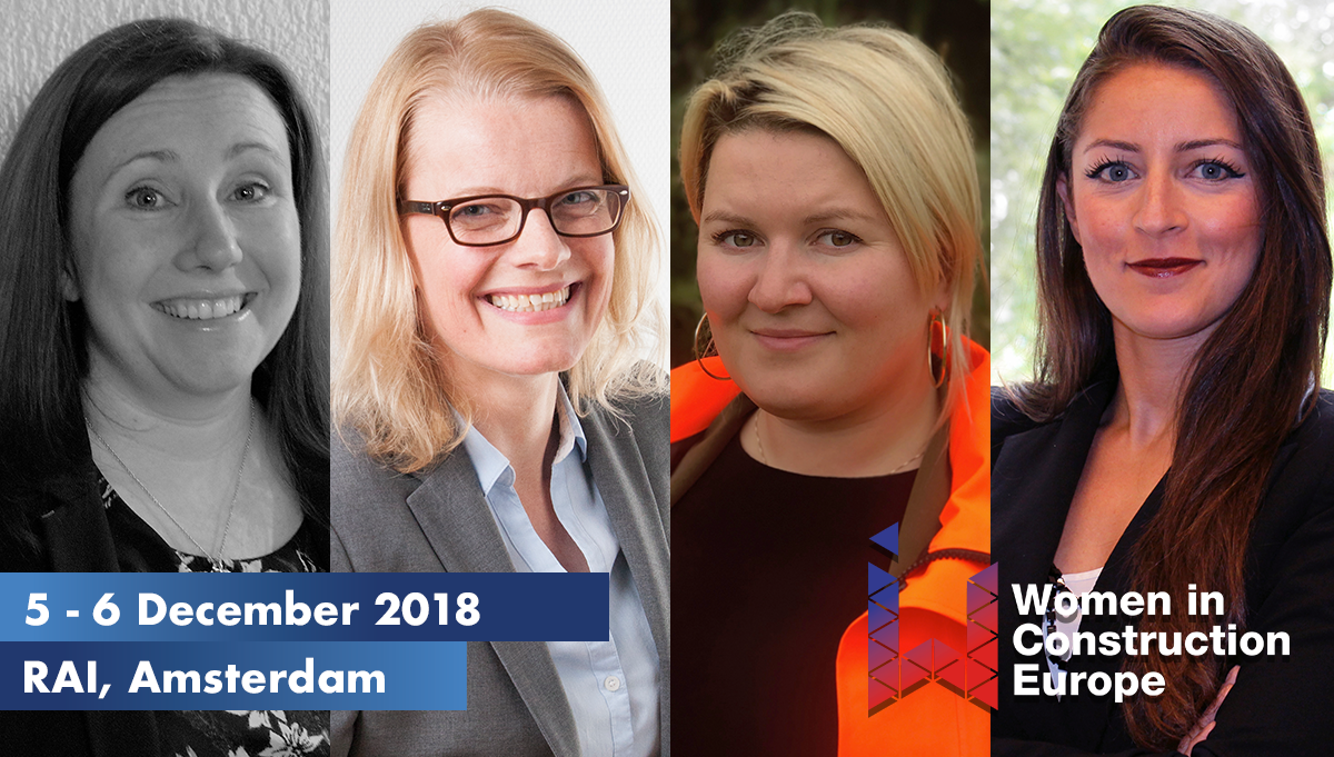 Women in Construction Europe 2018: Four sessions and what you'll learn from them